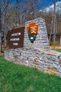 NPS Catoctin Mountain Park Sign Royalty Free Stock Photo