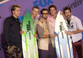 Nsync pop group at the teen choice awards at the universal amphitheatre hollywood they won the awards for choice single and choice Stock Images