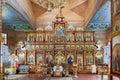 Famous Arkadi Christian orthodox monastery in Crete, Greece