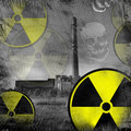 Nuclear danger Royalty Free Stock Photos
