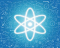 Nuclear energy icon Royalty Free Stock Photo