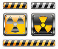 Nuclear icon Royalty Free Stock Photo