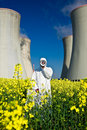 Nuclear Power Protest Stock Images