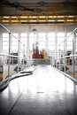 Nuclear reactor in a science institute indoors Stock Photos