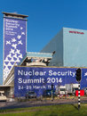 Nuclear Security Submit 2014 Royalty Free Stock Image