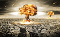 Royalty Free Stock Photos Nuclear War