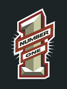 Number one logo.