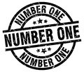 number one stamp Royalty Free Stock Photo