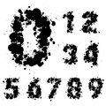 Number set, collection Royalty Free Stock Photography