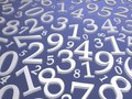 Numbers background Royalty Free Stock Images