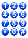Numbers Buttons