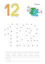 Numbers game for figure Twelve