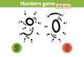 Numbers game (Numerals): nine, zero