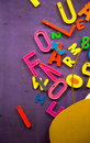 Numbers and Words School Education Concept Royalty Free Stock Photo