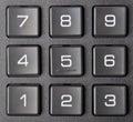 Numeric keypad Royalty Free Stock Image