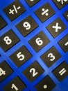 Numerical and arithmetical keypads Royalty Free Stock Photo