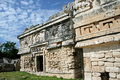 The Nunnery-Chichen Itza Royalty Free Stock Photos