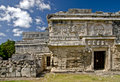 Nunnery ruins in Chichen Itza Royalty Free Stock Images