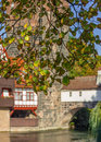 Nuremberg-Germany-beginning autumn-old town Royalty Free Stock Photo