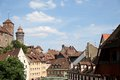 Nuremberg germany cityscape of in Royalty Free Stock Photos