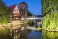 Nuremberg germany cityscape panorama Stock Image