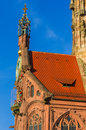Nuremberg (Nuernberg), Germany- details Church of Our Lady Royalty Free Stock Photo