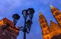 Nuremberg (Nuernberg), Germany-tops historic buildings Royalty Free Stock Photo