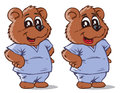 Nurse bear. Part of a series. Stock Photo