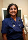 Nurse in Hospital Stock Photo
