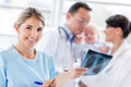 Nurse at the hospital Royalty Free Stock Photo