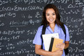 Nurse At School Royalty Free Stock Photo