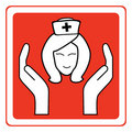 Nurse sign Stock Photos