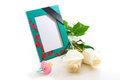 Nursery photo frame mourning Stock Photography