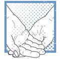 Nursing- Helping Hands Royalty Free Stock Photo