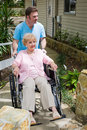 Nursing Home - New Arrival Royalty Free Stock Image