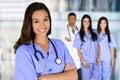 Nursing School Graduate Royalty Free Stock Photo