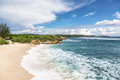 Nusa lembongan bali indonesia dream beach in a small island close to in Royalty Free Stock Photos
