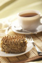 Nut cake Royalty Free Stock Photo
