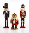 Nut cracker toys Royalty Free Stock Photo