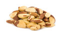 nut on white background Royalty Free Stock Photo
