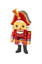 A Nutcracker on White Background Royalty Free Stock Photo