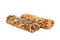 Nutrient chewy grains bars isolated Royalty Free Stock Photo