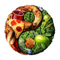 Nutrition And Diet Balance Royalty Free Stock Photo