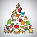 Nutrition Vector Royalty Free Stock Photo