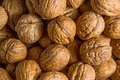 Nuts background some very appetizing Royalty Free Stock Image
