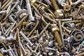 Nuts & bolts Royalty Free Stock Photos
