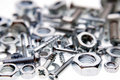 Nuts & bolts Stock Images