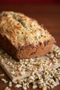 Nuts bread Stock Photography