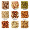Nuts collection Royalty Free Stock Image