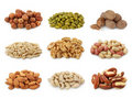 Nuts collection Stock Images
